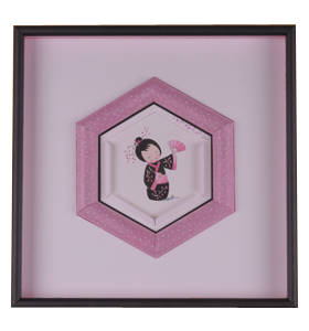 Biseau demi-cylindrique hexagonal